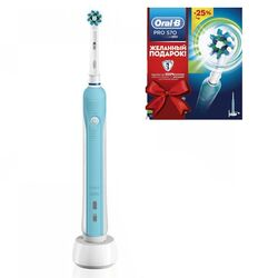 Зубная щетка Oral-B PRO Cross Action 570 D16